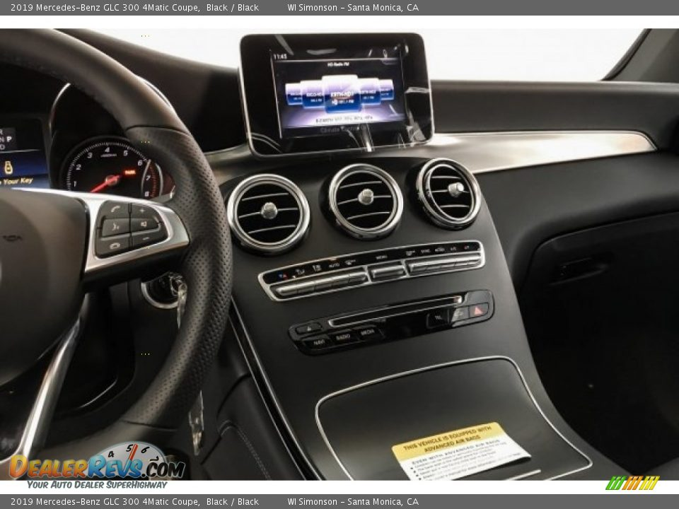 Controls of 2019 Mercedes-Benz GLC 300 4Matic Coupe Photo #6