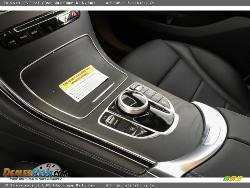 Controls of 2019 Mercedes-Benz GLC 300 4Matic Coupe Photo #7