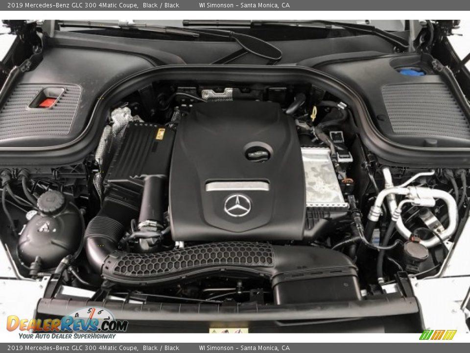 2019 Mercedes-Benz GLC 300 4Matic Coupe 2.0 Liter Turbocharged DOHC 16-Valve VVT 4 Cylinder Engine Photo #8
