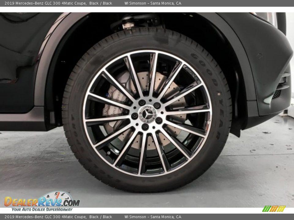 2019 Mercedes-Benz GLC 300 4Matic Coupe Black / Black Photo #9