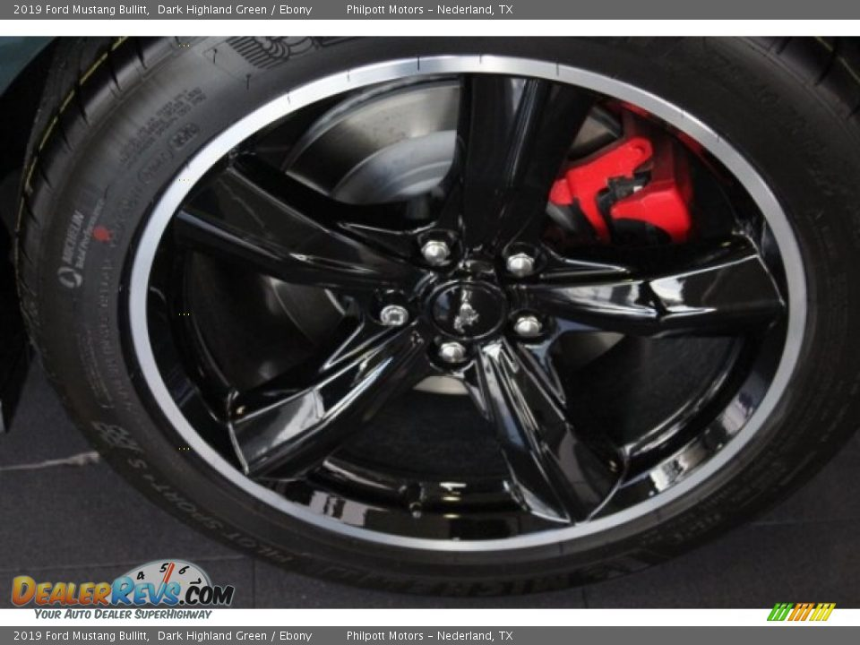 2019 Ford Mustang Bullitt Wheel Photo #5