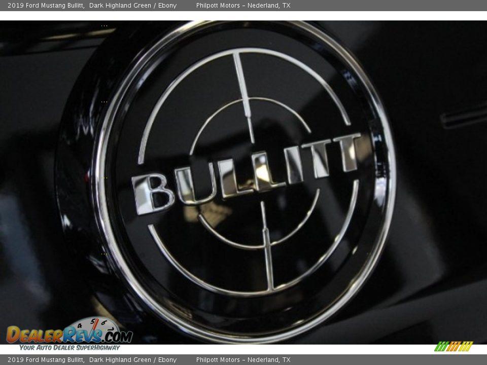 2019 Ford Mustang Bullitt Logo Photo #9