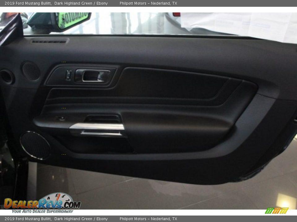 Door Panel of 2019 Ford Mustang Bullitt Photo #27