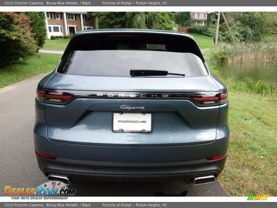 2019 Porsche Cayenne Biscay Blue Metallic / Black Photo #5