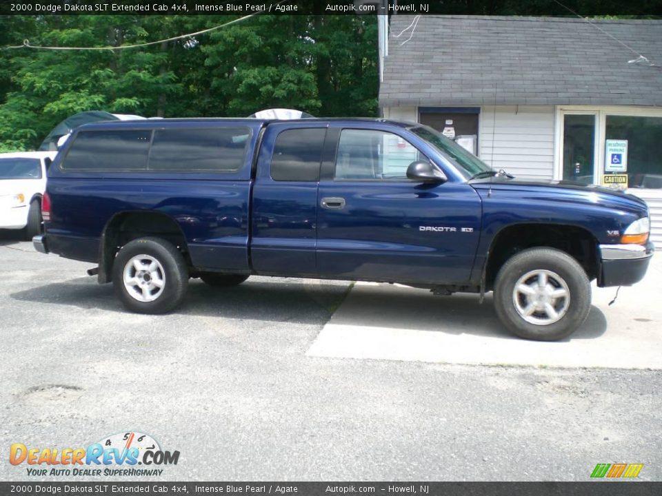 2000 dodge dakota slt extended cab 4x4 intense blue pearl agate photo 8. Black Bedroom Furniture Sets. Home Design Ideas