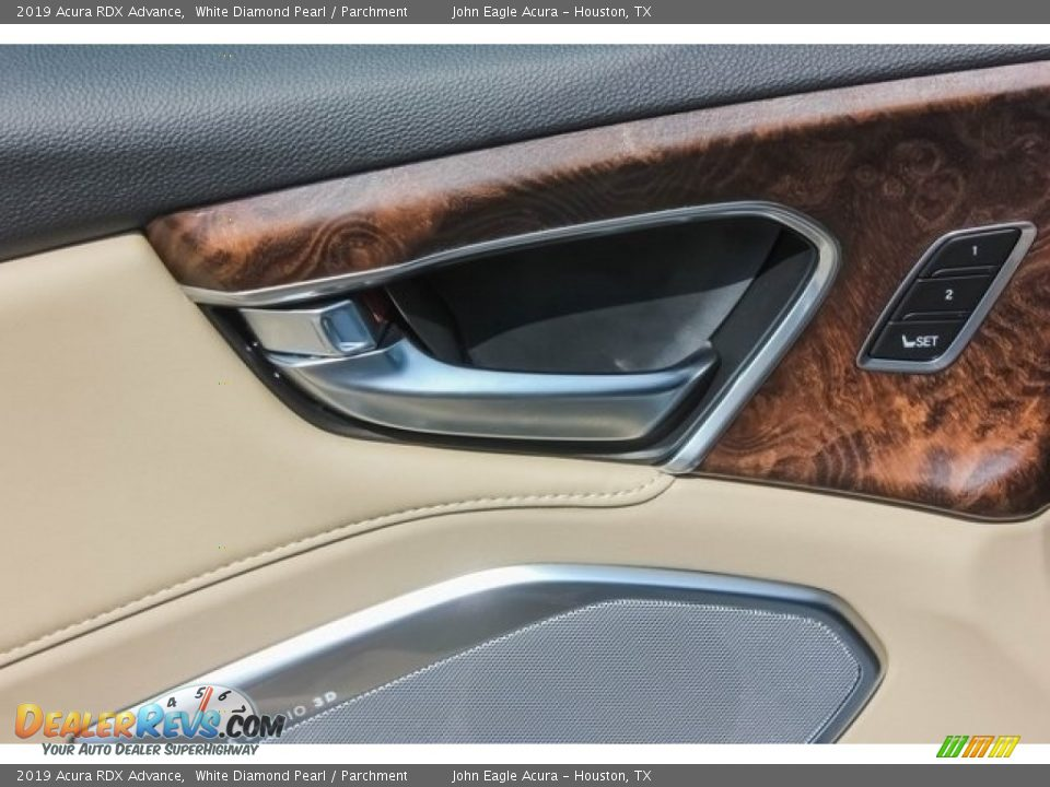 2019 Acura RDX Advance White Diamond Pearl / Parchment Photo #13
