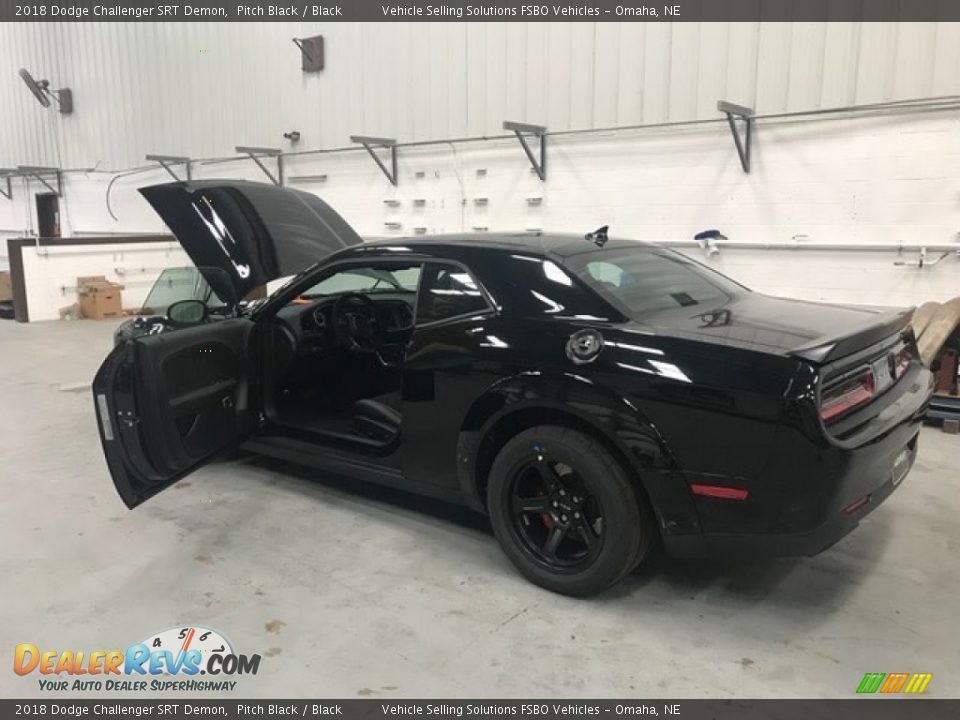 Pitch Black 2018 Dodge Challenger SRT Demon Photo #5