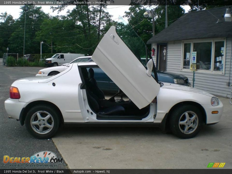 1995 honda del sol si frost white black photo 3. Black Bedroom Furniture Sets. Home Design Ideas