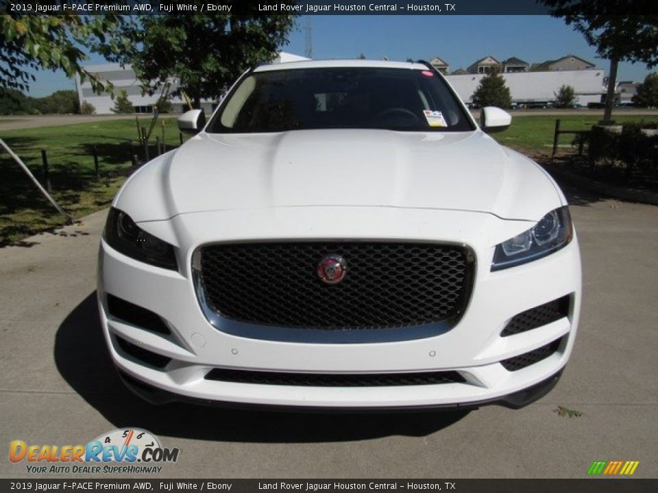 2019 Jaguar F-PACE Premium AWD Fuji White / Ebony Photo #9