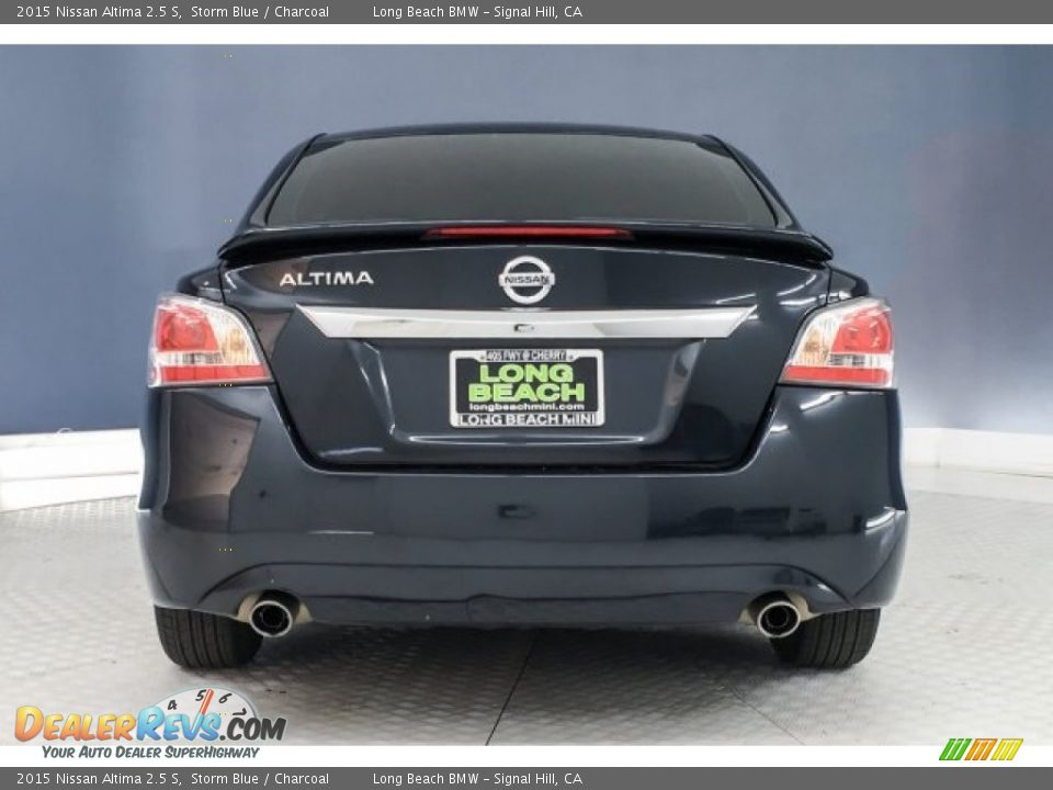 2015 Nissan Altima 2.5 S Storm Blue / Charcoal Photo #3