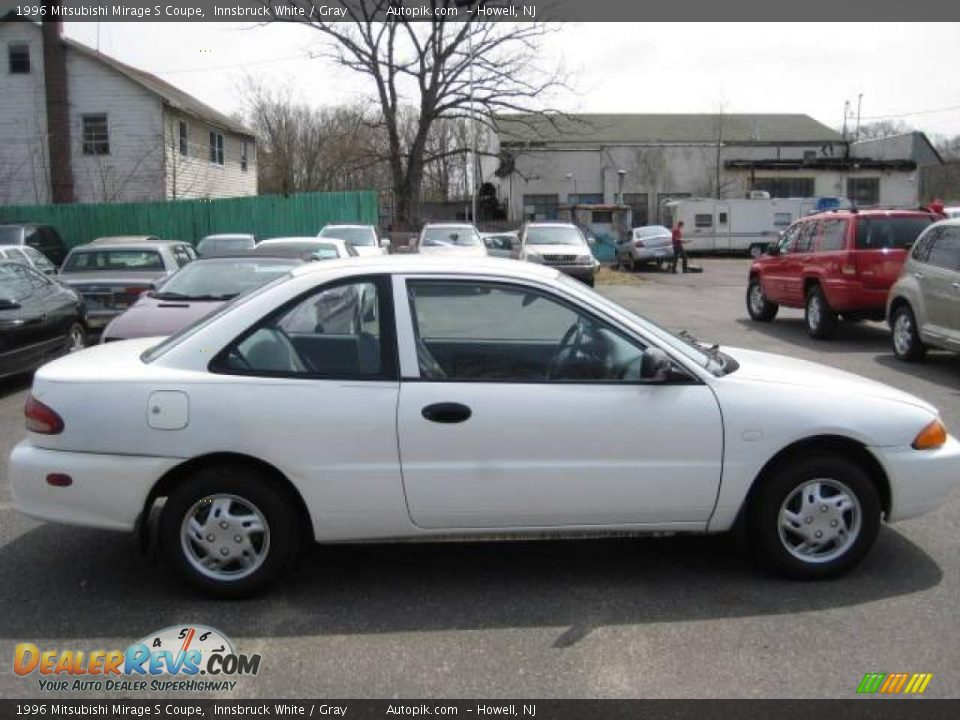 1996 Mitsubishi Mirage S Coupe Innsbruck White / Gray