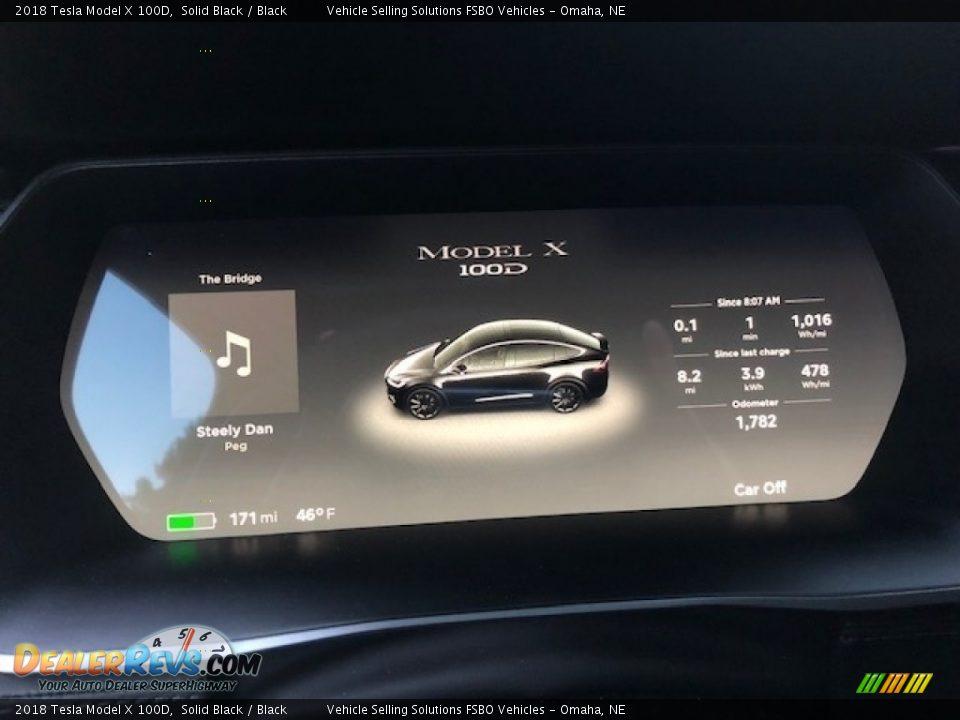 Controls of 2018 Tesla Model X 100D Photo #4