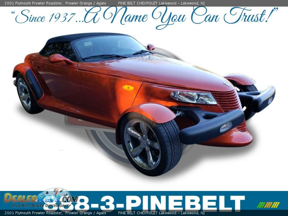 2001 Plymouth Prowler Roadster Prowler Orange / Agate Photo #1