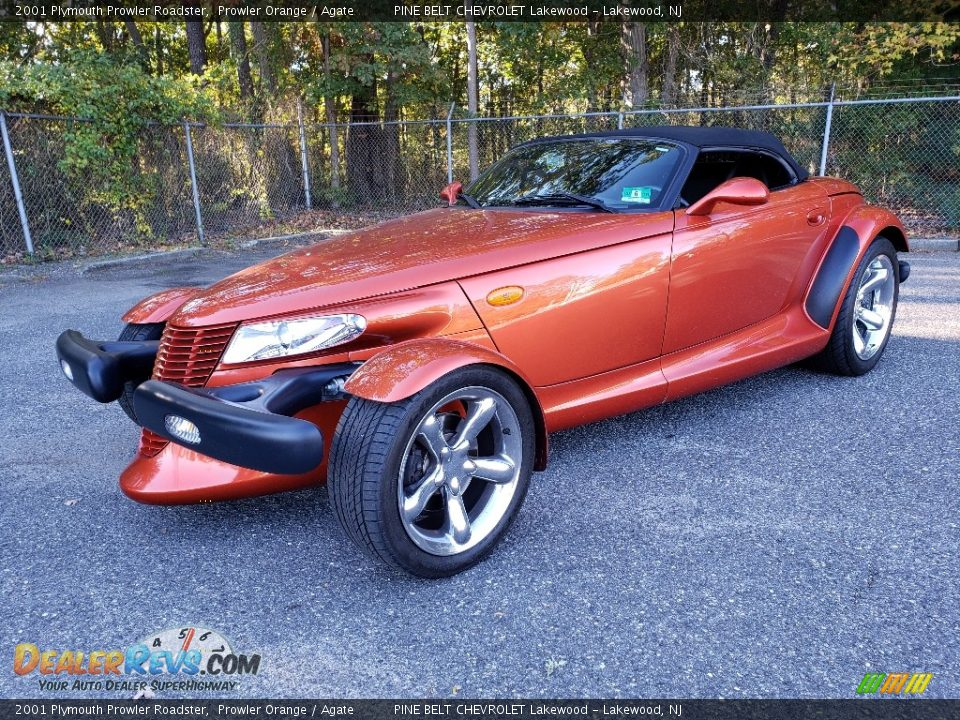 Front 3/4 View of 2001 Plymouth Prowler Roadster Photo #3