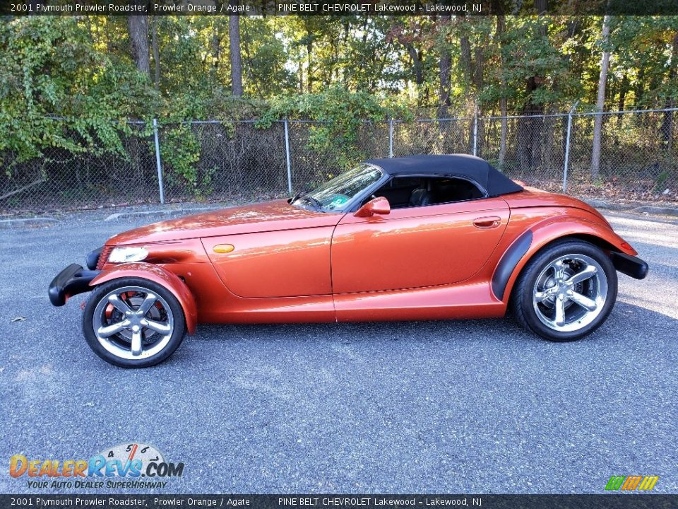 Prowler Orange 2001 Plymouth Prowler Roadster Photo #4