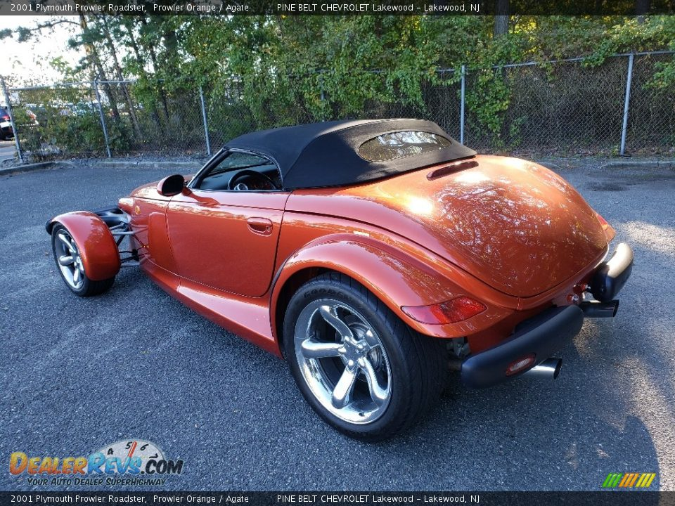 2001 Plymouth Prowler Roadster Prowler Orange / Agate Photo #5