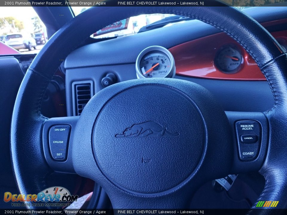 2001 Plymouth Prowler Roadster Prowler Orange / Agate Photo #22