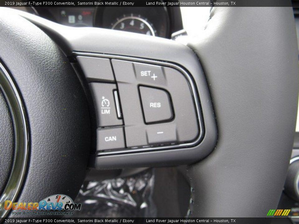 2019 Jaguar F-Type P300 Convertible Steering Wheel Photo #25