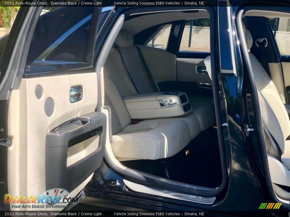 2011 Rolls-Royce Ghost Diamond Black / Creme Light Photo #12