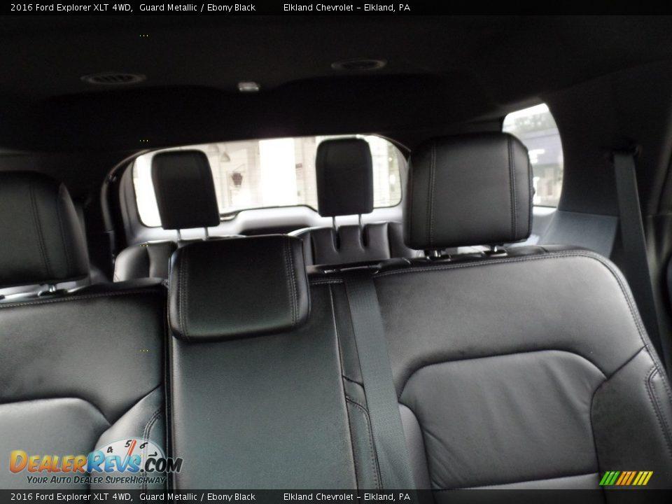 2016 Ford Explorer XLT 4WD Guard Metallic / Ebony Black Photo #15