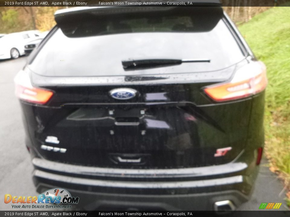 2019 Ford Edge ST AWD Agate Black / Ebony Photo #5