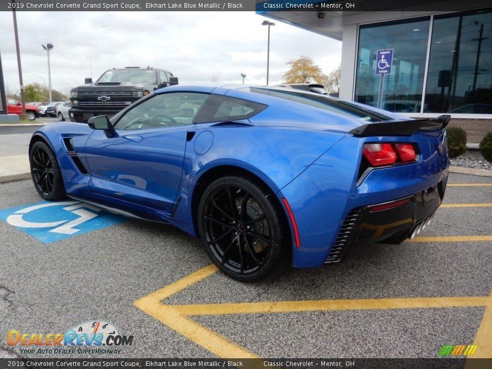 2019 Chevrolet Corvette Grand Sport Coupe Elkhart Lake Blue Metallic / Black Photo #5