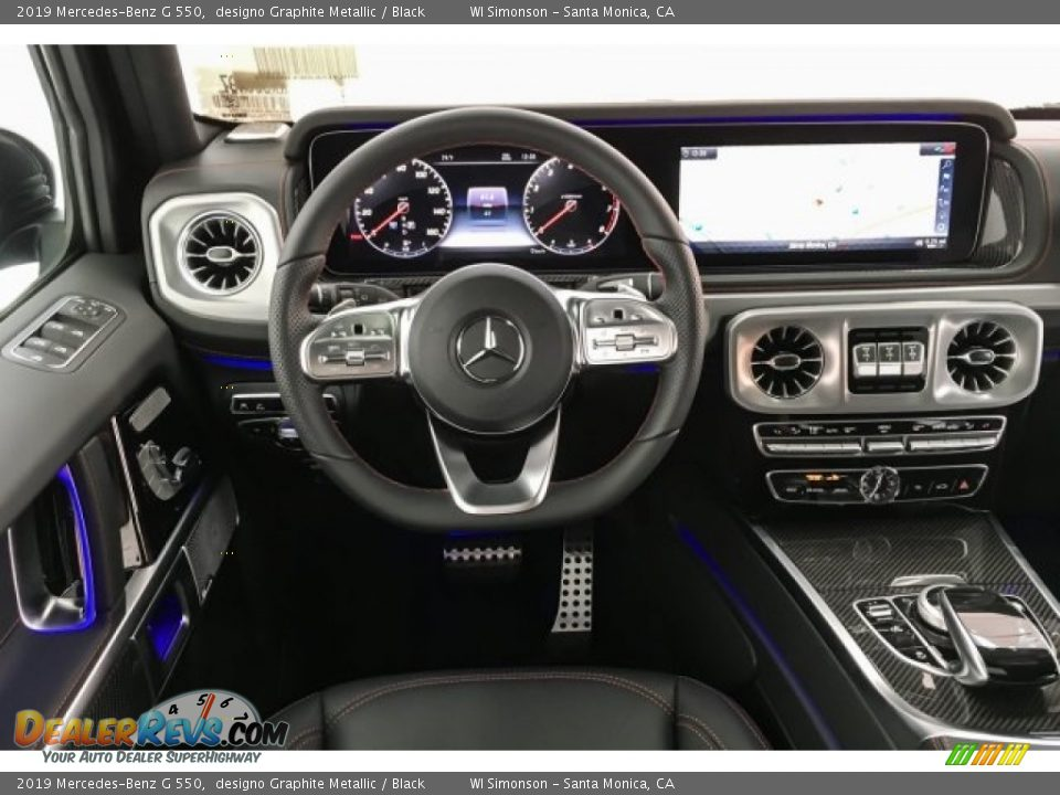 Dashboard of 2019 Mercedes-Benz G 550 Photo #4