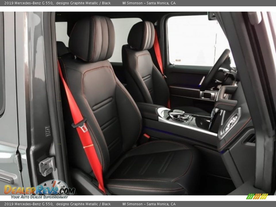 Front Seat of 2019 Mercedes-Benz G 550 Photo #6