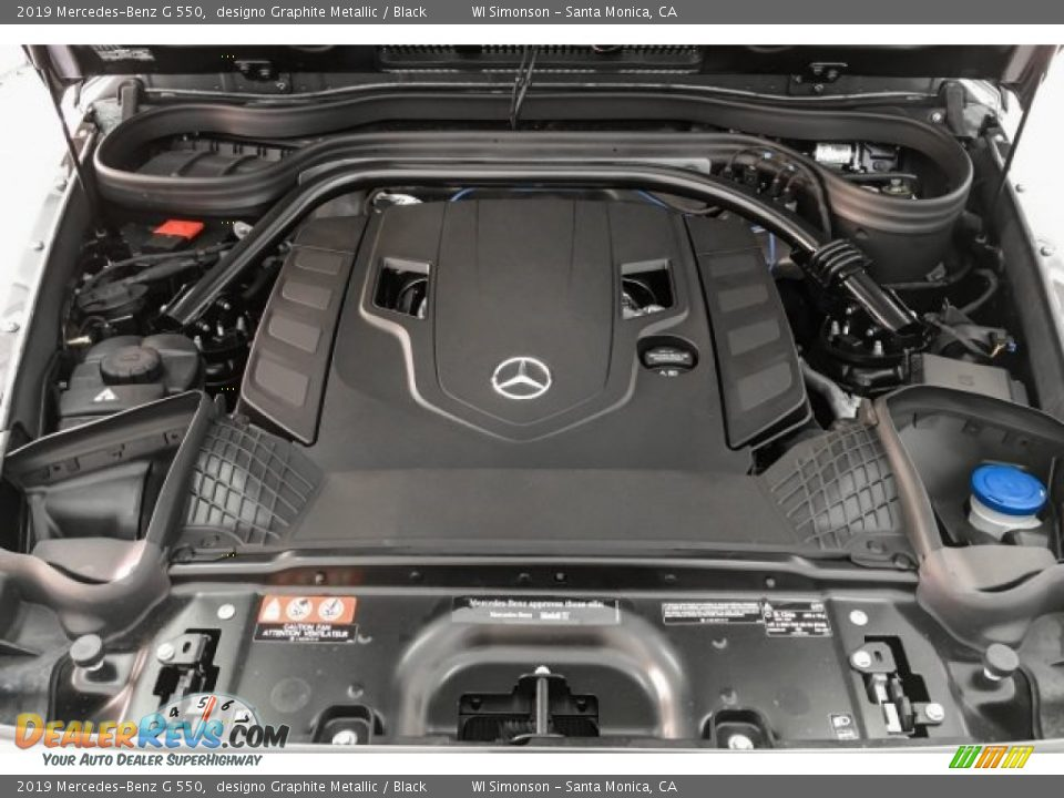 2019 Mercedes-Benz G 550 4.0 Liter biturbo DOHC 32-Valve VVT V8 Engine Photo #9
