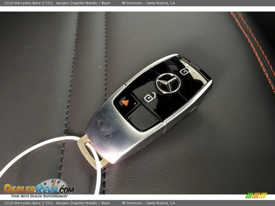 Keys of 2019 Mercedes-Benz G 550 Photo #11