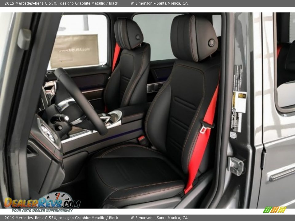 Front Seat of 2019 Mercedes-Benz G 550 Photo #15
