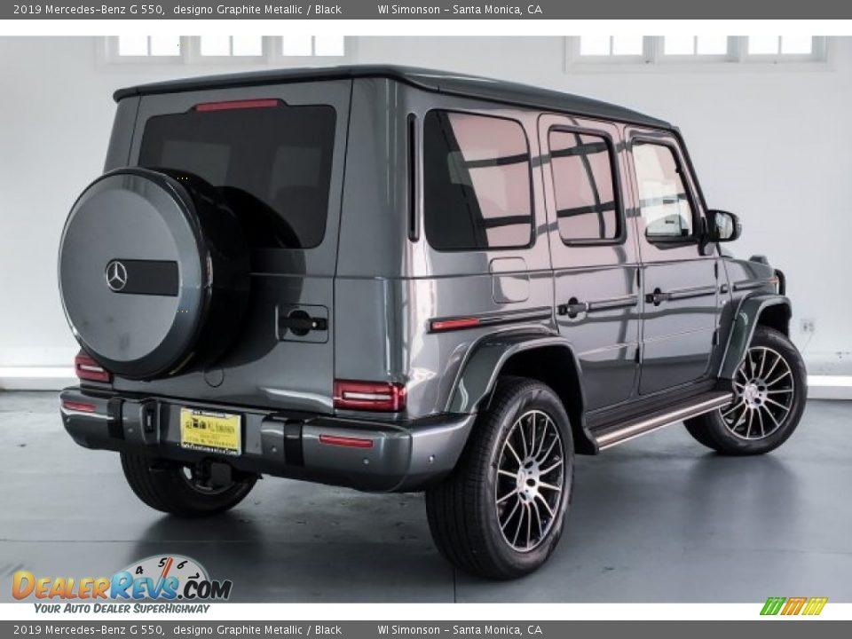 2019 Mercedes-Benz G 550 designo Graphite Metallic / Black Photo #16