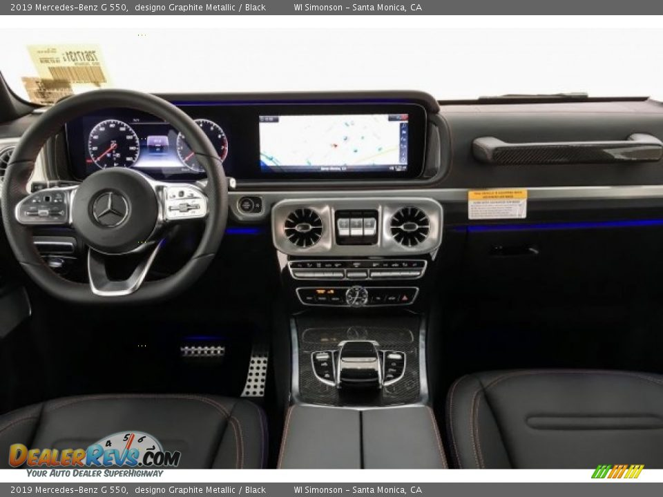Dashboard of 2019 Mercedes-Benz G 550 Photo #18