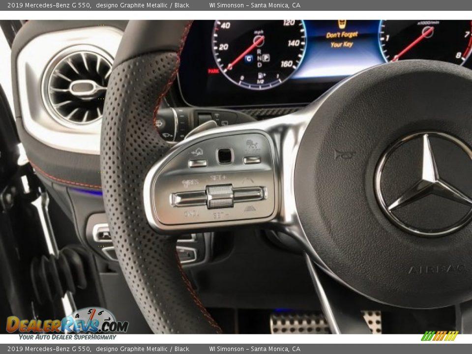 2019 Mercedes-Benz G 550 Steering Wheel Photo #19