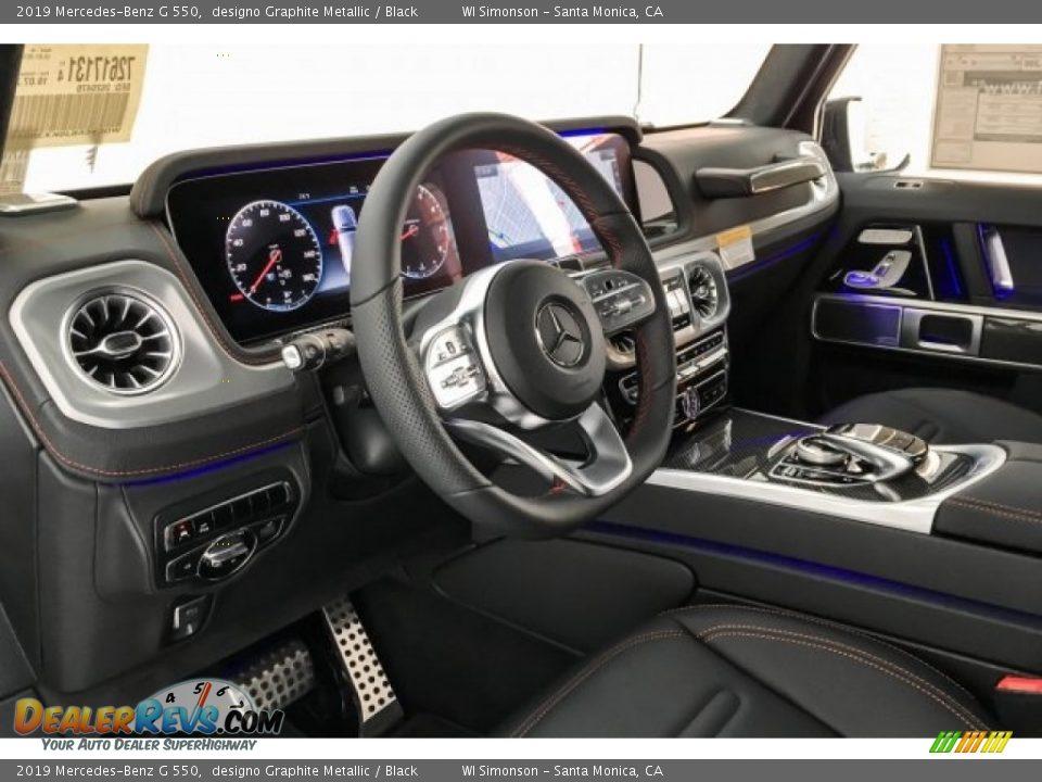 Black Interior - 2019 Mercedes-Benz G 550 Photo #23