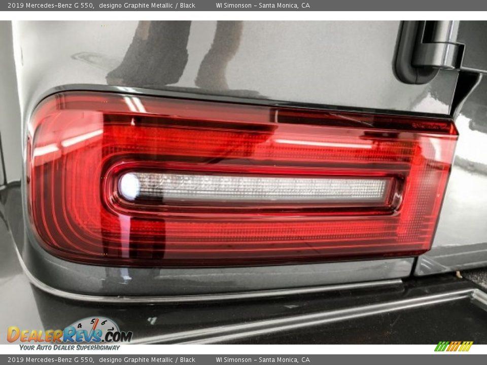 2019 Mercedes-Benz G 550 designo Graphite Metallic / Black Photo #27