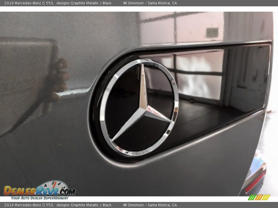 2019 Mercedes-Benz G 550 designo Graphite Metallic / Black Photo #28