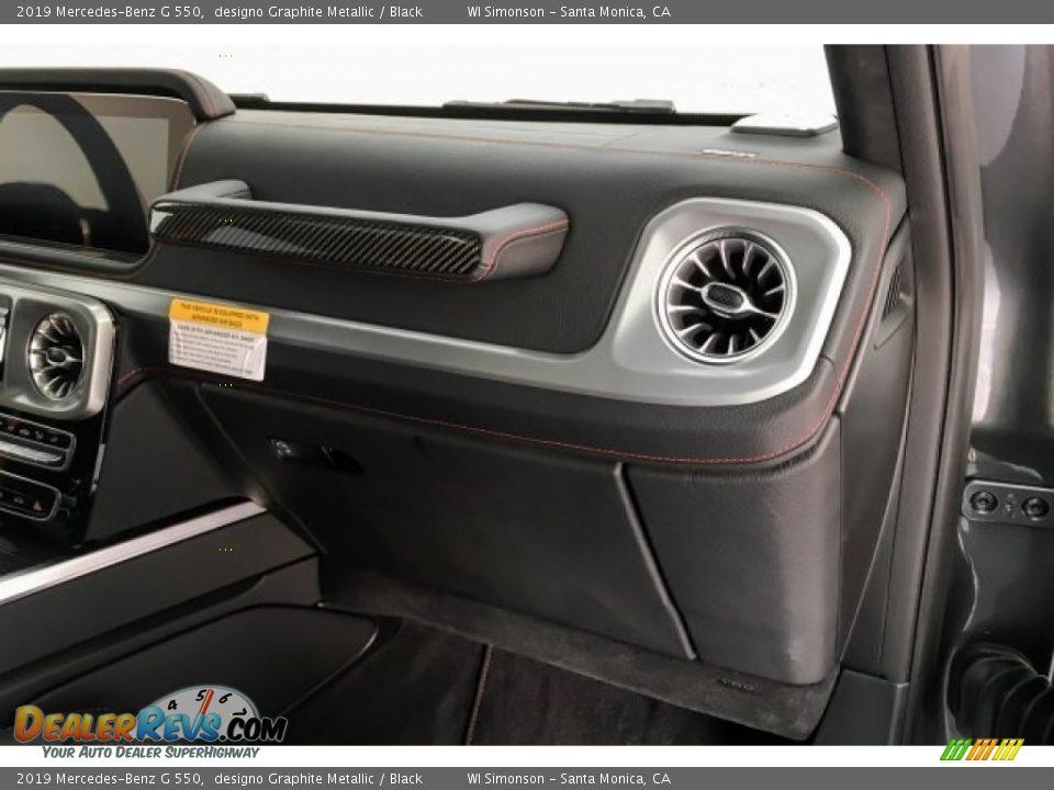 2019 Mercedes-Benz G 550 designo Graphite Metallic / Black Photo #29
