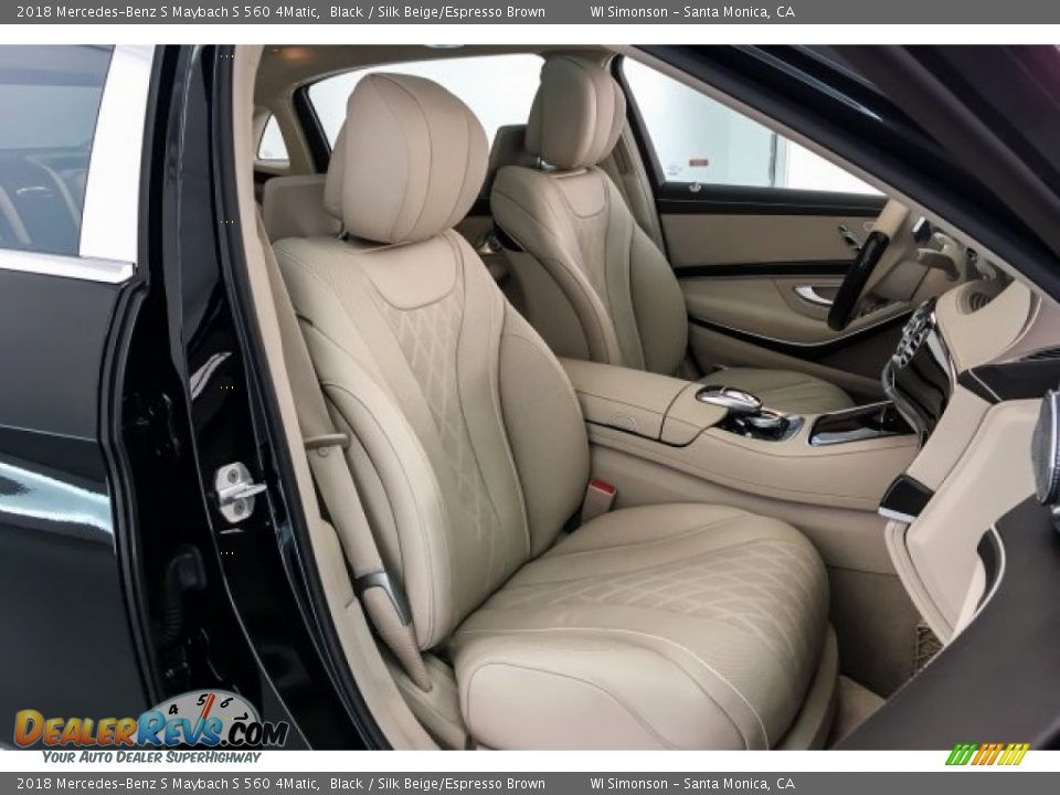 Front Seat of 2018 Mercedes-Benz S Maybach S 560 4Matic Photo #6