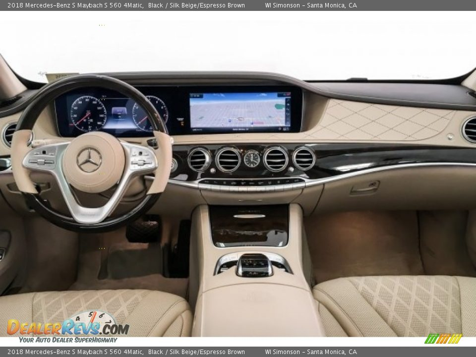 Dashboard of 2018 Mercedes-Benz S Maybach S 560 4Matic Photo #19