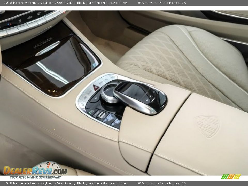Controls of 2018 Mercedes-Benz S Maybach S 560 4Matic Photo #25