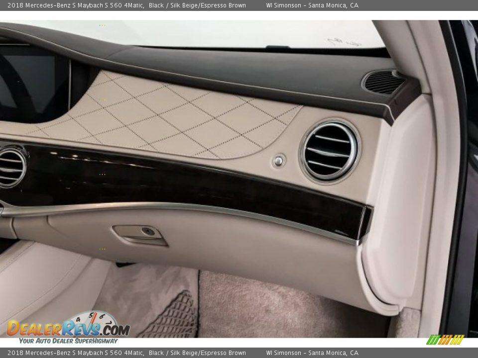 Dashboard of 2018 Mercedes-Benz S Maybach S 560 4Matic Photo #29