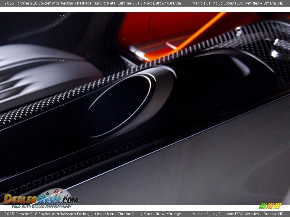 Exhaust of 2015 Porsche 918 Spyder with Weissach Package Photo #14
