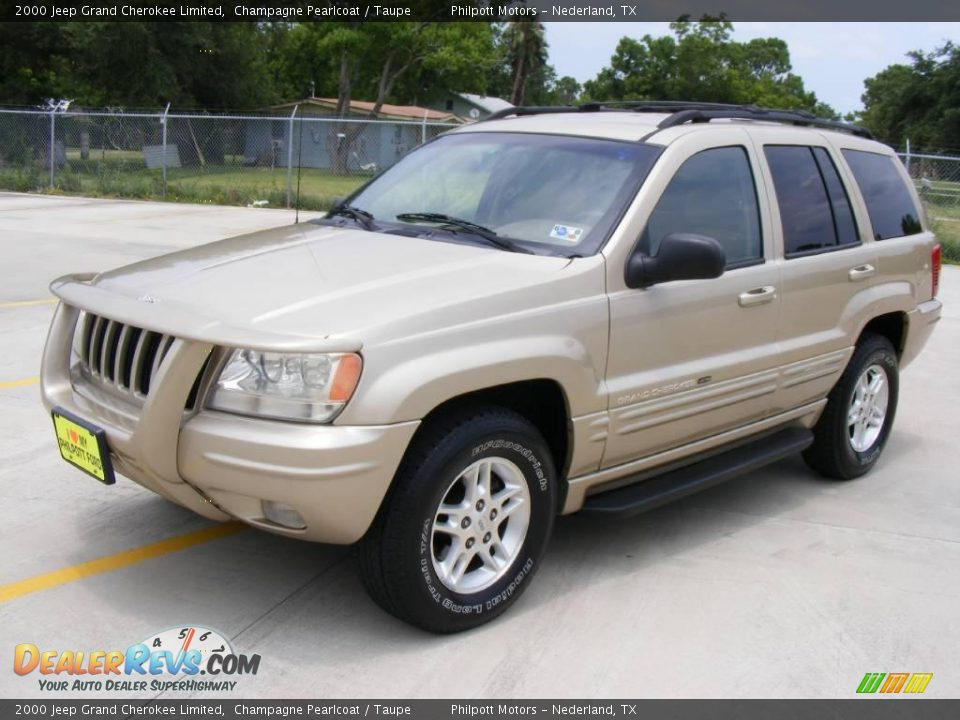 2000 jeep grand cherokee limited champagne pearlcoat taupe photo 7. Cars Review. Best American Auto & Cars Review