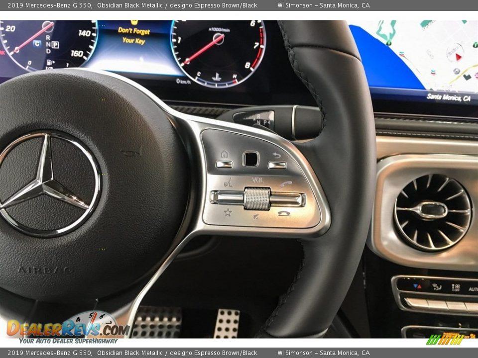2019 Mercedes-Benz G 550 Steering Wheel Photo #20