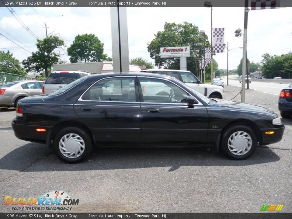 1996 mazda 626 lx black onyx gray photo 12. Black Bedroom Furniture Sets. Home Design Ideas