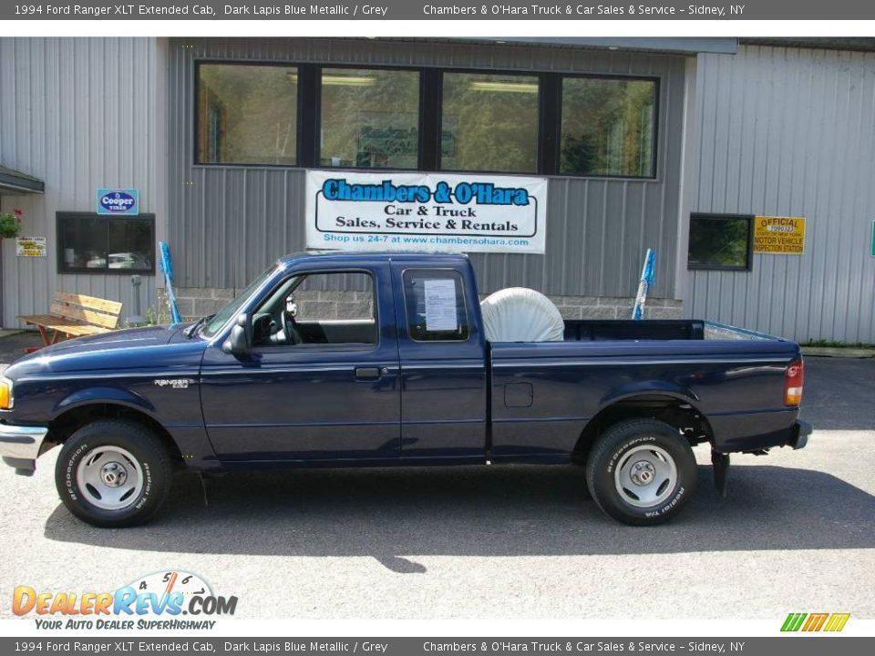 1994 ford ranger xlt extended cab dark lapis blue metallic. Black Bedroom Furniture Sets. Home Design Ideas