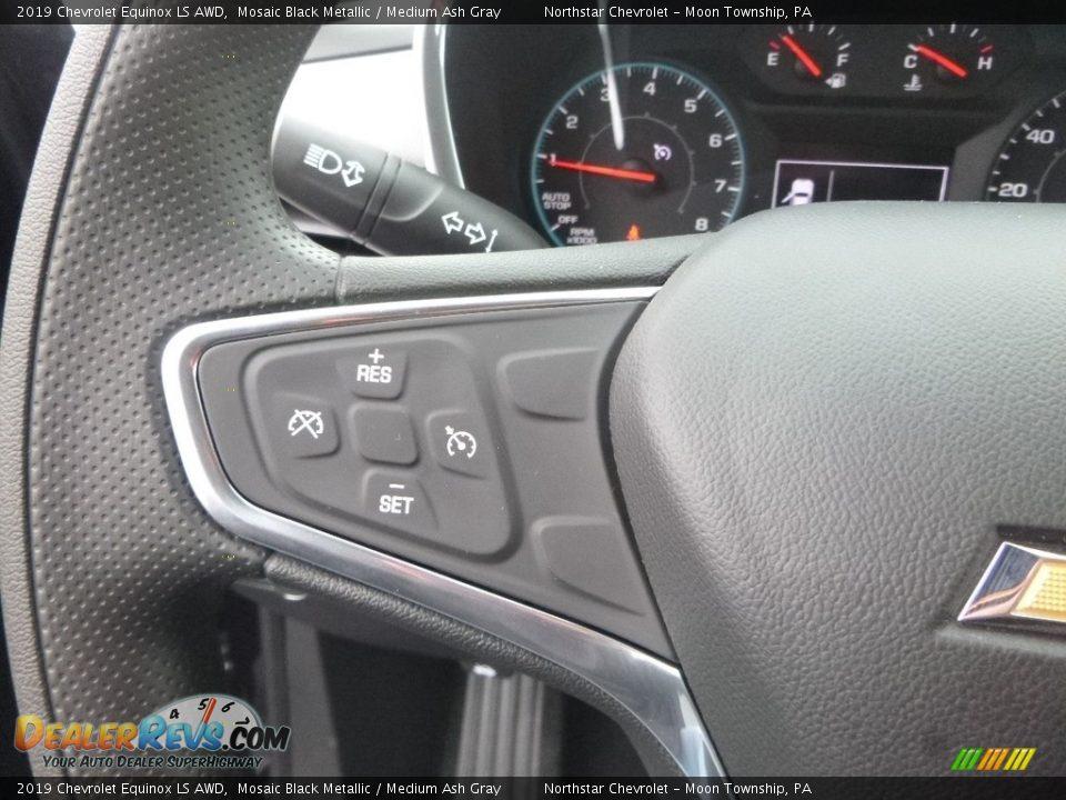 2019 Chevrolet Equinox LS AWD Mosaic Black Metallic / Medium Ash Gray Photo #19
