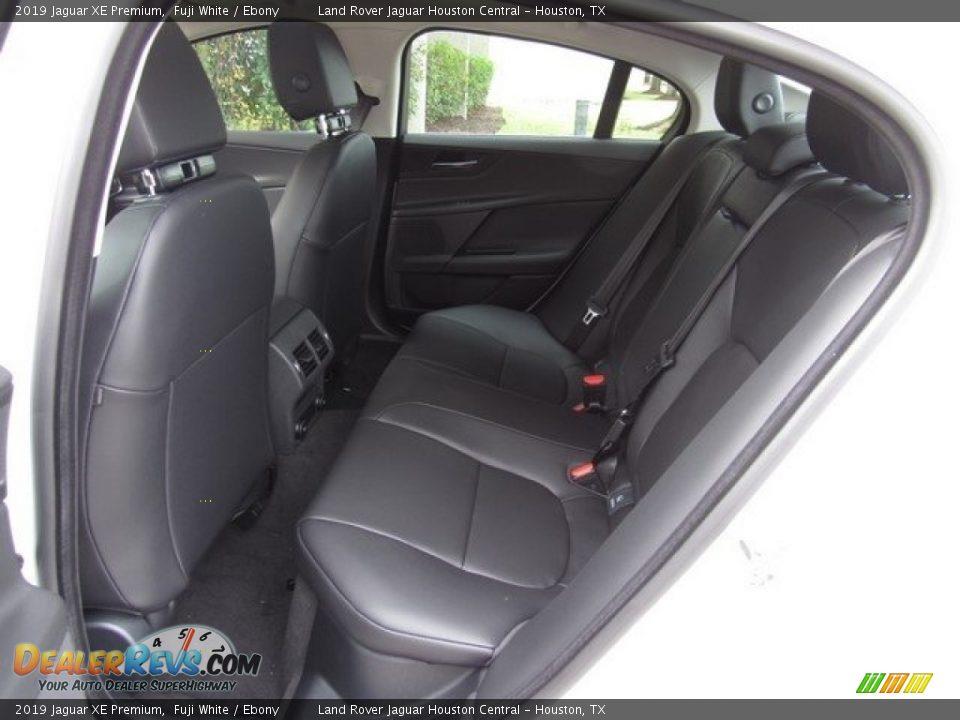 Rear Seat of 2019 Jaguar XE Premium Photo #13