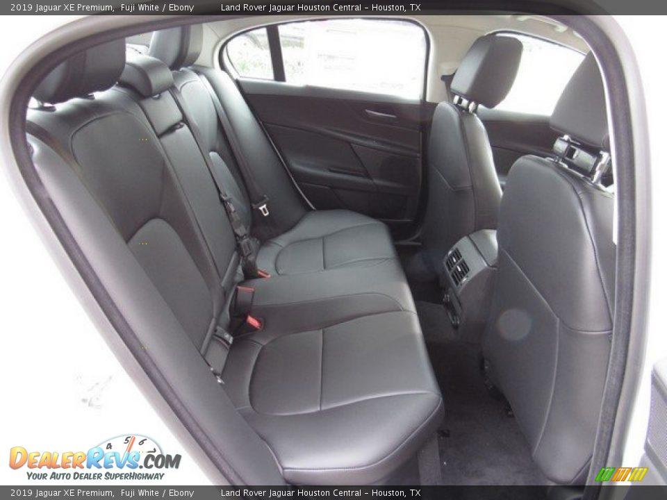 Rear Seat of 2019 Jaguar XE Premium Photo #19